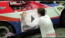 How to install race car graphics