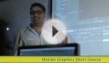 Motion Graphics and Compositing short course at SAE Dubai